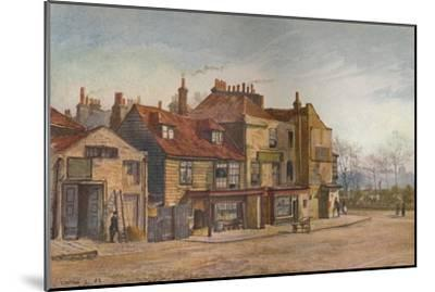 View of Lawrence Street, Chelsea, London, 1882-John Crowther-Mounted Giclee Print