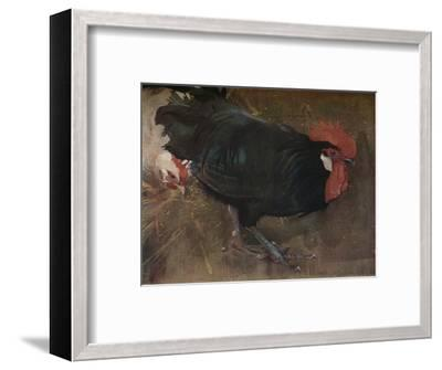 'The Black Cock', c1894-Joseph Crawhall-Framed Giclee Print