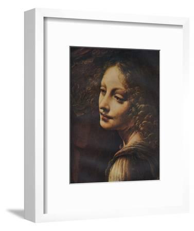 'The Virgin of the Rocks (detail)', c1491-Leonardo da Vinci-Framed Giclee Print