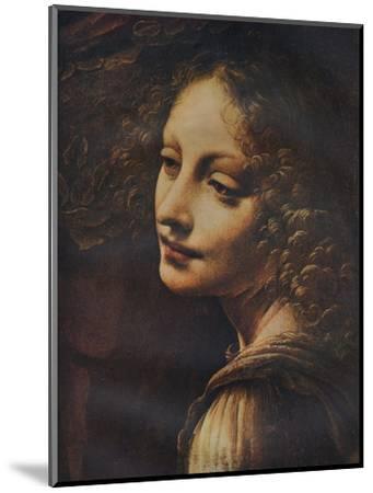 'The Virgin of the Rocks (detail)', c1491-Leonardo da Vinci-Mounted Giclee Print