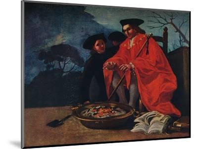 'El Medico', 1779-Francisco Goya-Mounted Giclee Print