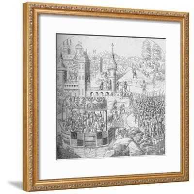 The Peasants' Revolt of 1381, 1804 (1906)-John Harris the Elder-Framed Giclee Print