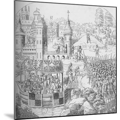 The Peasants' Revolt of 1381, 1804 (1906)-John Harris the Elder-Mounted Giclee Print