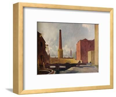 'Lock Gates, Blackburn', 1928 (1931)-Charles John Holmes-Framed Giclee Print