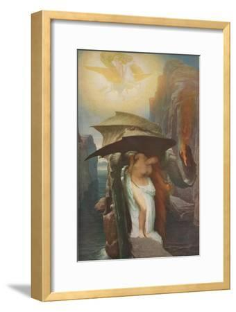 'Perseus and Andromeda', 1891, (1918)-Frederic Leighton-Framed Giclee Print
