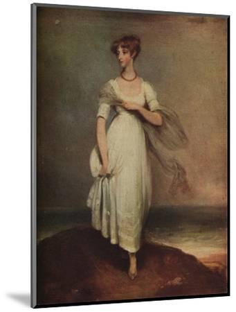 'Lady Lavinia Grey', c1800-Thomas Lawrence-Mounted Giclee Print