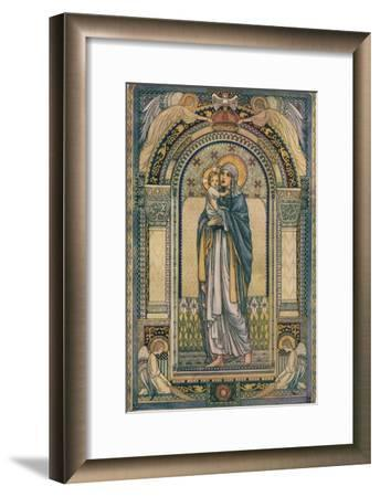 'Madonna and Child', c1918-Jeanne Labrousse-Framed Giclee Print