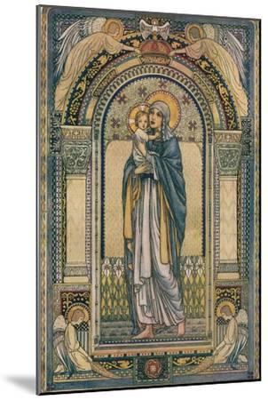 'Madonna and Child', c1918-Jeanne Labrousse-Mounted Giclee Print