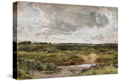 'Southwold Common in August', c1889-Otto Limited-Stretched Canvas Print