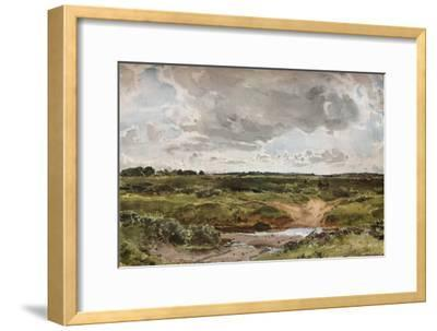 'Southwold Common in August', c1889-Otto Limited-Framed Giclee Print