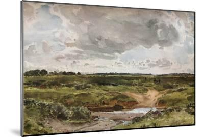 'Southwold Common in August', c1889-Otto Limited-Mounted Giclee Print