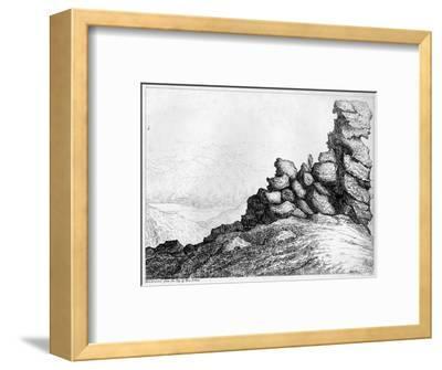 'Ben Lomond from the Top of`Ben Arthur', c1812-S Leith-Framed Giclee Print