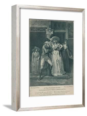 'The Tavern Door: Laetitia Deserted By Her Seducer is Thrown on the Town', 1789-Otto Limited-Framed Giclee Print