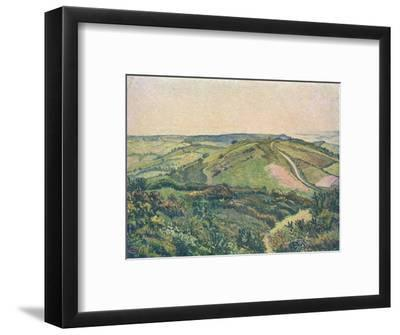 'View from the Hill, Fishpond', c1913-Lucien Pissaro-Framed Giclee Print