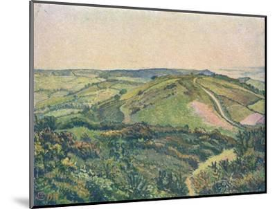 'View from the Hill, Fishpond', c1913-Lucien Pissaro-Mounted Giclee Print