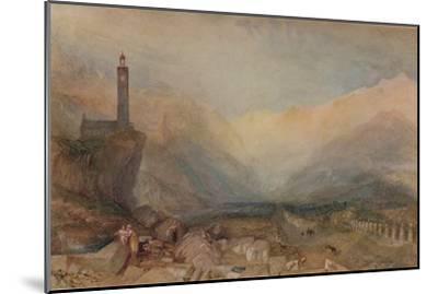 The Splugen Pass', c1841, (1938)-JMW Turner-Mounted Giclee Print