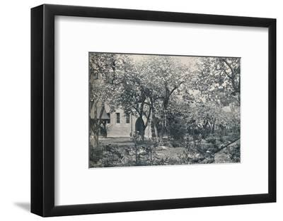 'Example of orchard garden, originally laid out by William Morris', c1900-Unknown-Framed Photographic Print