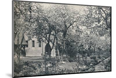 'Example of orchard garden, originally laid out by William Morris', c1900-Unknown-Mounted Photographic Print