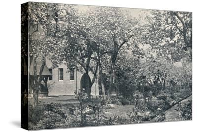 'Example of orchard garden, originally laid out by William Morris', c1900-Unknown-Stretched Canvas Print