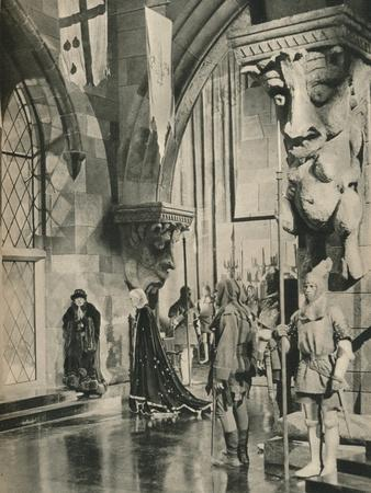 Scene in the Palace of Louis XI. From the film: The Beloved Rogue-Unknown-Framed Photographic Print