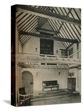 'Boxhurst Farm, Kent: End of Dance Room. Restored and converted by Oliver Hill', c1928-Unknown-Stretched Canvas Print