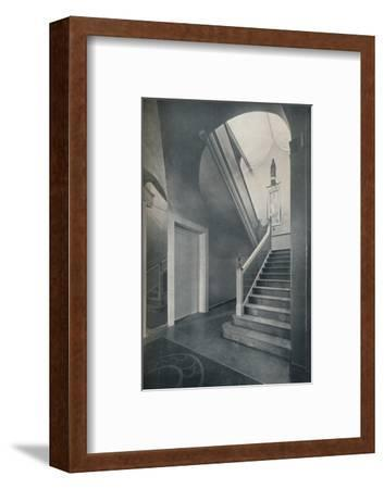 'Staircase and hall of Finella by architect Raymond McGrath (1903-1977)', 1930-Unknown-Framed Photographic Print