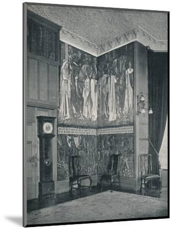 'Arras Tapestry at Stanmore Hall', 1898-9-Unknown-Mounted Photographic Print
