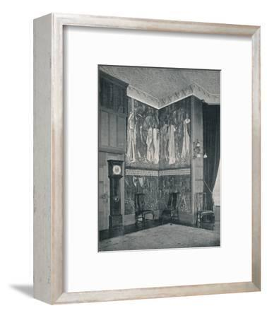 'Arras Tapestry at Stanmore Hall', 1898-9-Unknown-Framed Photographic Print