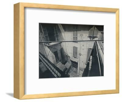 An old Sundial adapted by the Architect P. Portaluppi-Unknown-Framed Photographic Print
