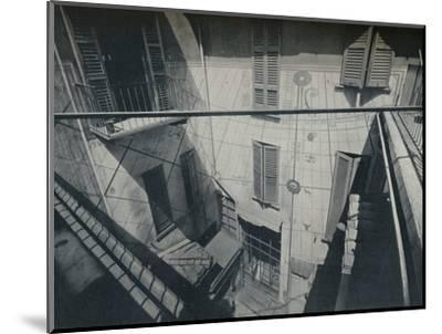 An old Sundial adapted by the Architect P. Portaluppi-Unknown-Mounted Photographic Print