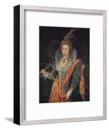 Queen Elizabeth I, 16th century (1905)-Unknown-Framed Giclee Print