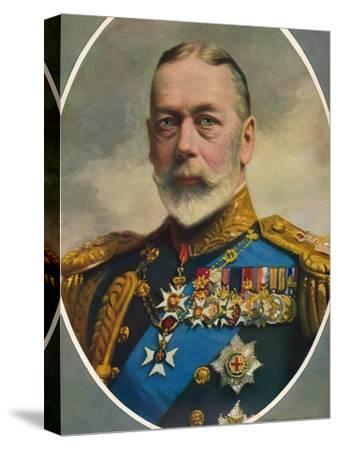 'His Late Majesty King George V', 1936-Unknown-Stretched Canvas Print