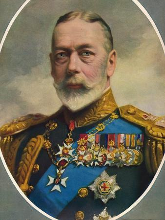 'His Late Majesty King George V', 1936-Unknown-Framed Giclee Print