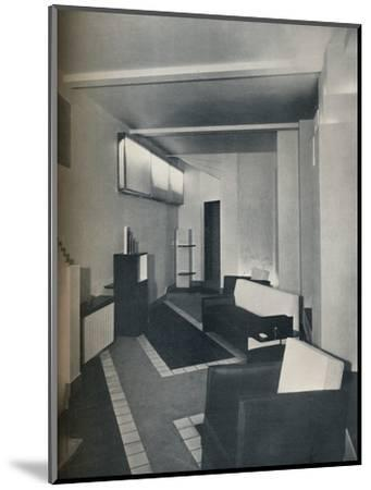 '1930s sitting room', 1930-Unknown-Mounted Photographic Print