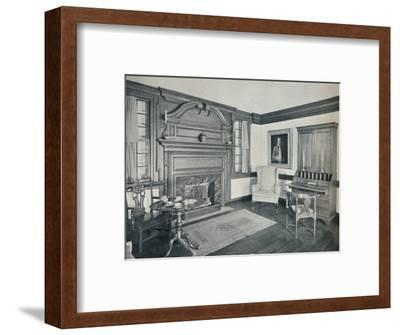 'The Living Room of the Francis Corbin House, at Edenton, built in 1758', 1930-Unknown-Framed Photographic Print