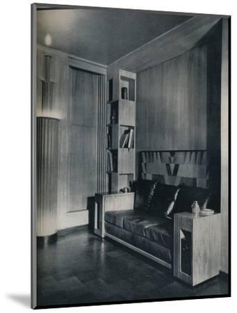 'Furniture and interior of a private office. Designed by Joseph Sinel', 1930-Unknown-Mounted Photographic Print
