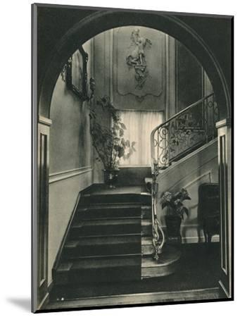 Haus H., Dresden: The Staircase. Designed by Professor E Haiger-Unknown-Mounted Photographic Print