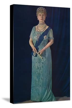 'The Widowed Queen: Her Majesty Queen Mary', 1936-Unknown-Stretched Canvas Print
