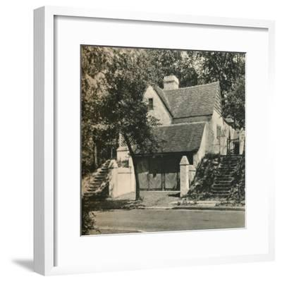 'Country House for Mr. Edwin C. Duble, Forest Hills. Architect, Frank Forster', c1928-Unknown-Framed Photographic Print