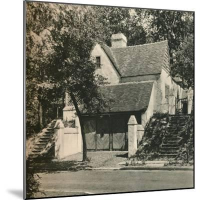 'Country House for Mr. Edwin C. Duble, Forest Hills. Architect, Frank Forster', c1928-Unknown-Mounted Photographic Print