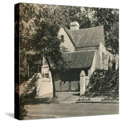 'Country House for Mr. Edwin C. Duble, Forest Hills. Architect, Frank Forster', c1928-Unknown-Stretched Canvas Print