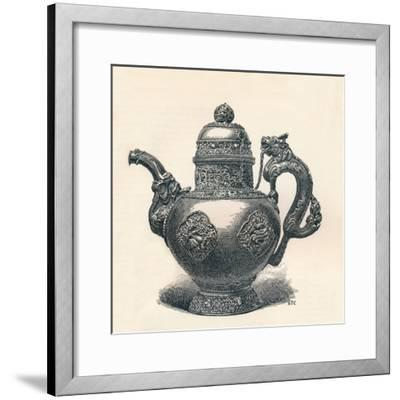 'Tibetan Tea-Pot with Dragon Spout and Handle Showing Chinese Influence', c1904-Unknown-Framed Giclee Print