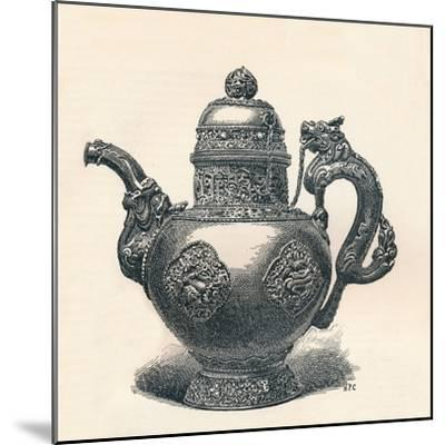 'Tibetan Tea-Pot with Dragon Spout and Handle Showing Chinese Influence', c1904-Unknown-Mounted Giclee Print