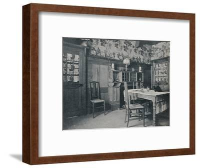 'Dining Room', c1902-Unknown-Framed Photographic Print