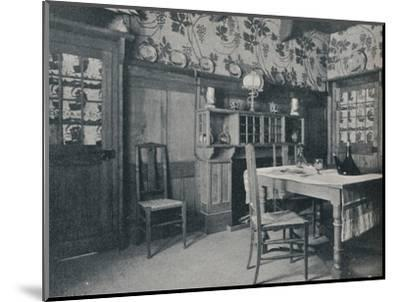 'Dining Room', c1902-Unknown-Mounted Photographic Print