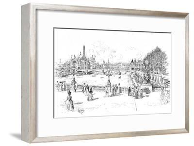 The Paris Exhibition of 1900 (1906)-Unknown-Framed Giclee Print