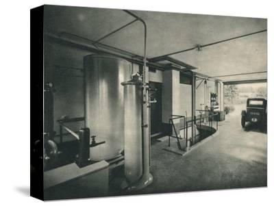 Garage of a Private House at Garches, near Paris-Unknown-Stretched Canvas Print