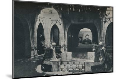 'Hall in the German Section of the Turin Exhibition', 1902-Unknown-Mounted Photographic Print
