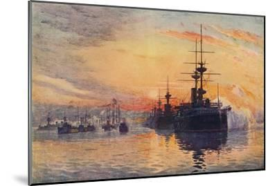 'Queen Victoria's Last Voyage, February 1, 1901', 1906-Unknown-Mounted Giclee Print