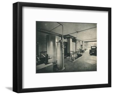 Garage of a Private House at Garches, near Paris-Unknown-Framed Photographic Print